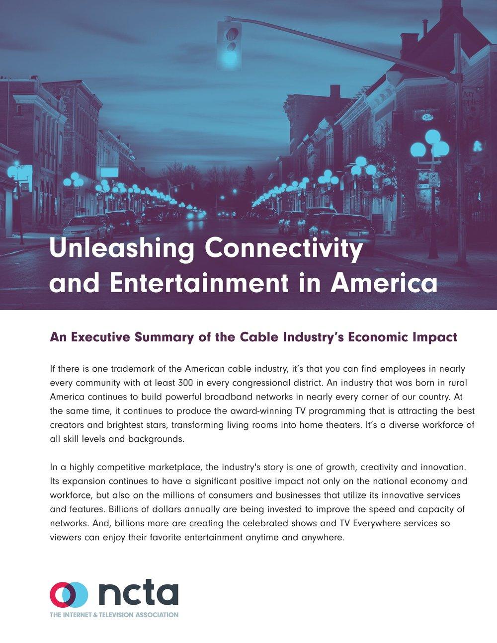 Bortz Report - Congressional Presentation Tool NCTA 2017
