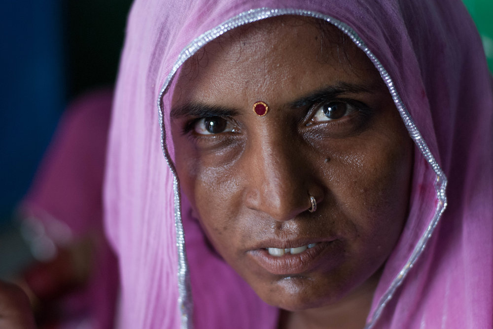 40-year-old Chuki, mother of four girls and a boy, resisted the authority of her family and had sterilization surgery after her fifth delivery.