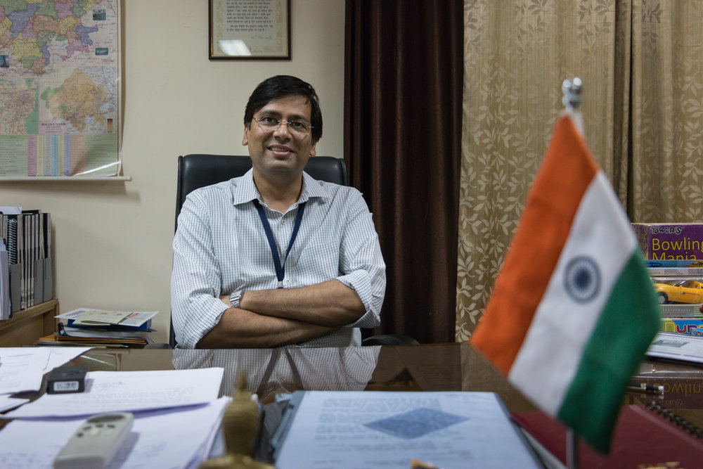 Dr. Samit Sharma, now in charge of the Integrated Child Development Scheme, had led the baton for, and then implemented, the Free Medicine Scheme in Rajasthan.
