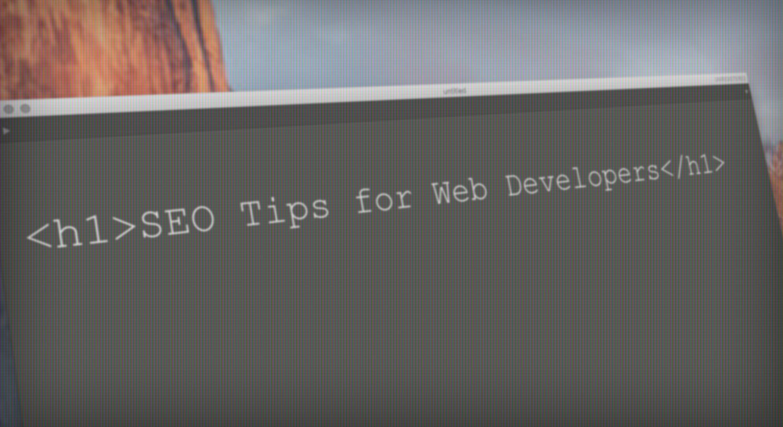 SEO Tips for Web Developers