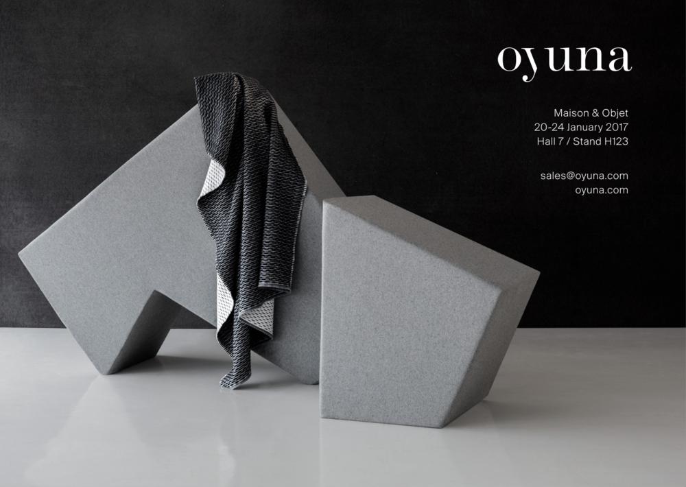 OYUNA at Maison & Objet 2017