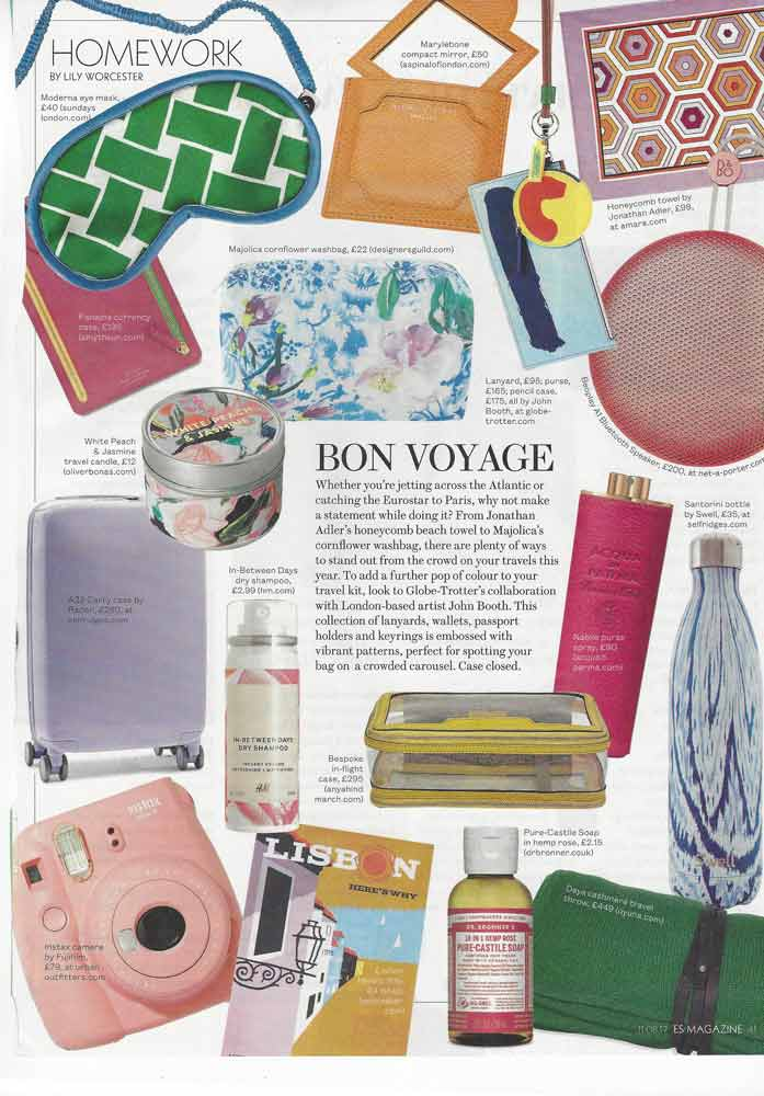 - OYUNA Daya Cashmere Travel Throwfeatured in The Evening Standard magazine's 'Homework' selection.by Lily Worcester
