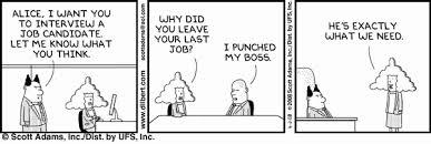Dilbert on Interviewing