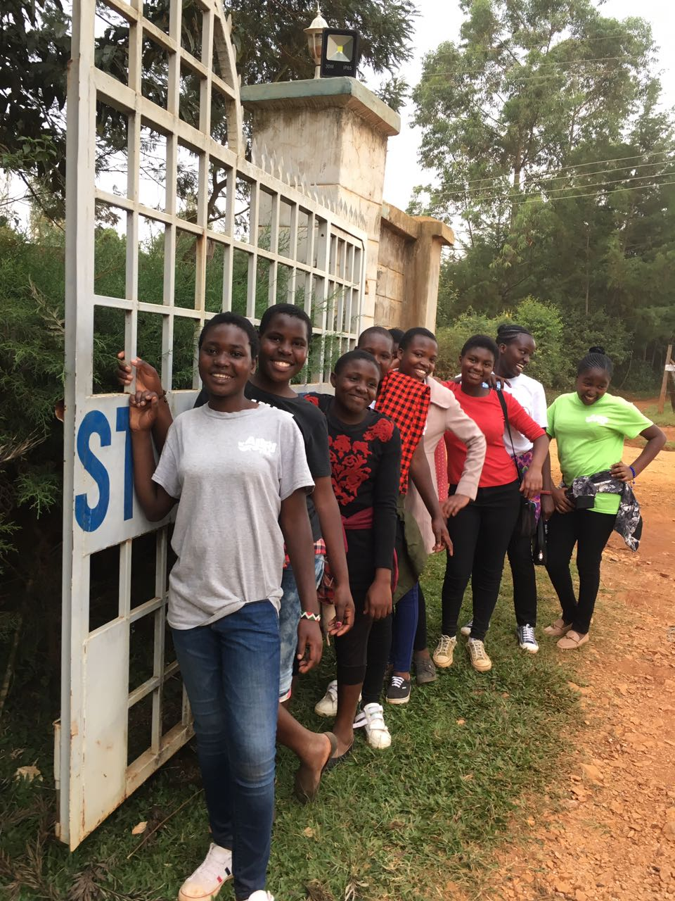 Photo from our first-ever Ajiri summer camp held in Kakamega Forest.