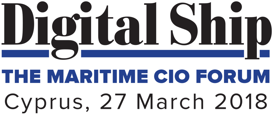 Digital Ship Maritime CIO Forum Cyprus, 27 March 2018