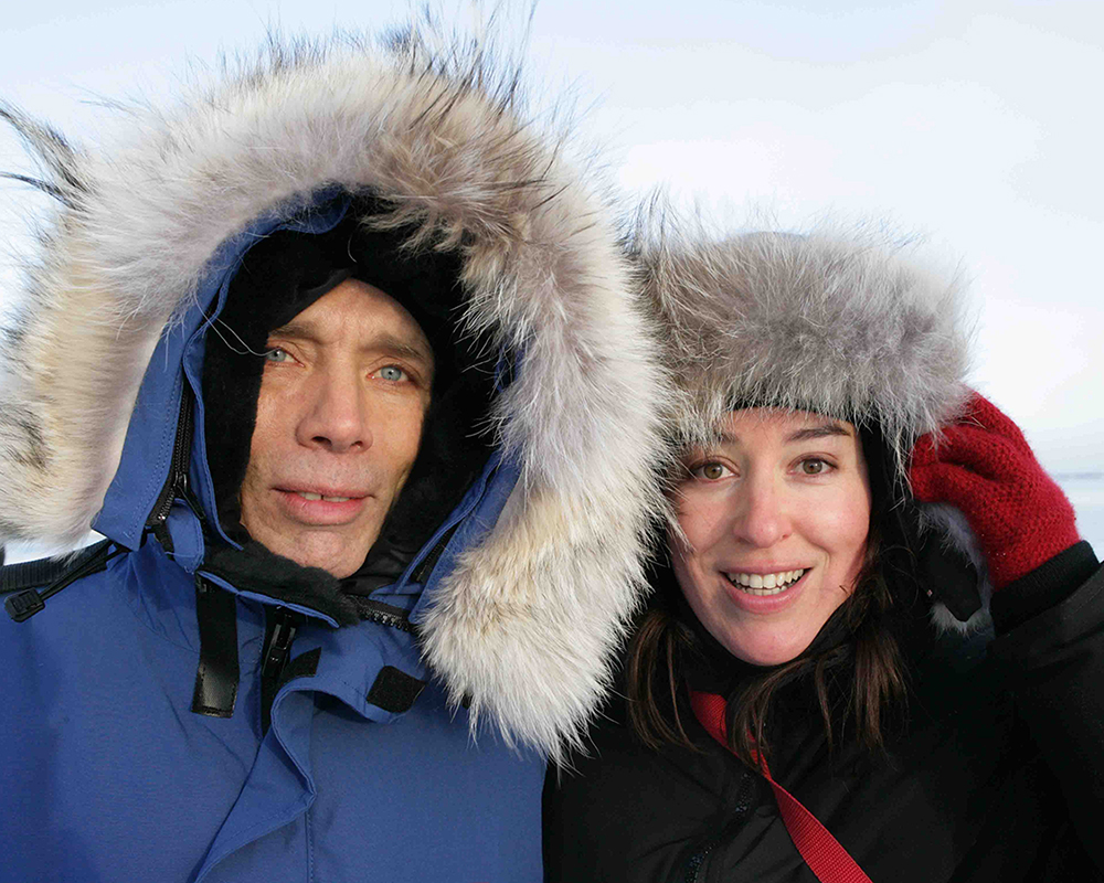 Walter Martin & Paloma Muñoz in Helsinki, 2006 Photo: David Muñoz