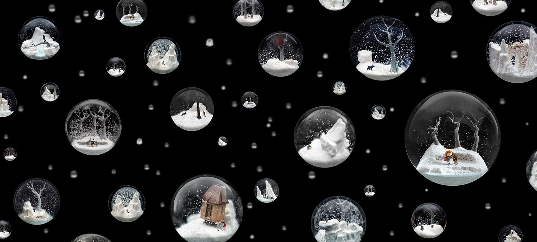 snow globes walter martin paloma muñoz