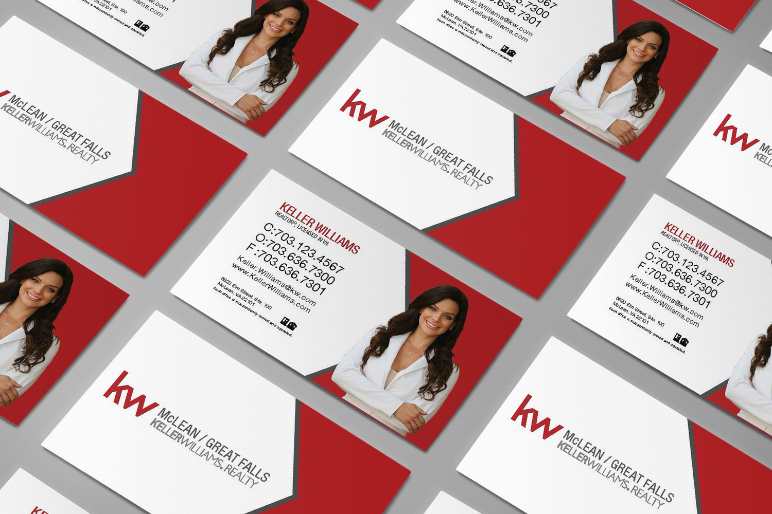Keller williams realty mclean reach business card mockup for adg magicingreecefo Gallery