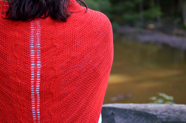 Winter KAL prize - Copy of Amplitude Shawl pattern by Greg Cohoon