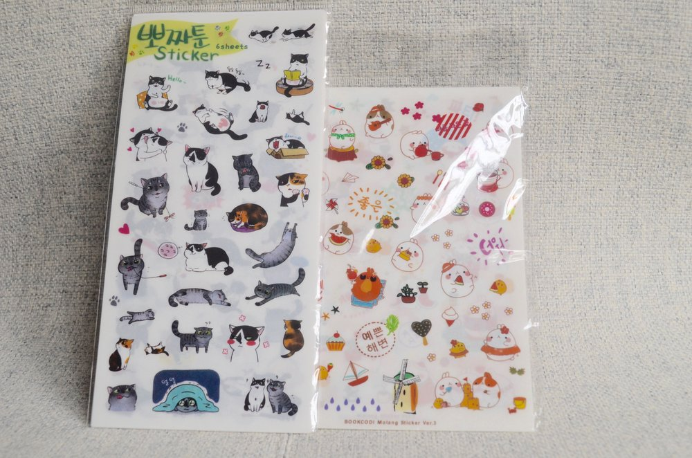 Japanese stickers from SewFlo