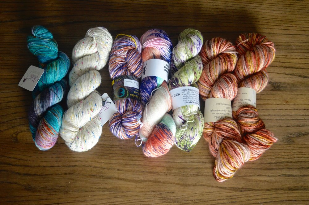 Other yarn from Carolina Fiber Fest