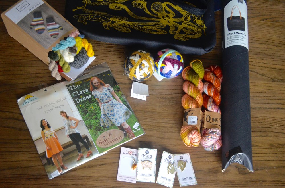 Haul from Downtown Knits (Apex, NC)