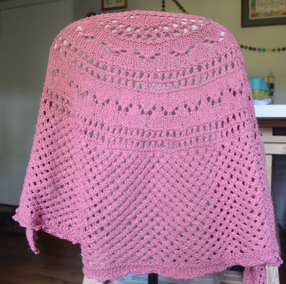 Summer Flies Shawl