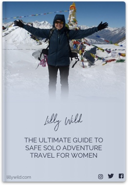 Lilly Wild safe solo adventure travel guide for women