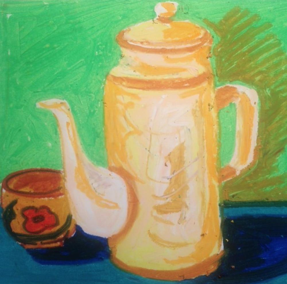 My mum's tea pot from the 70's