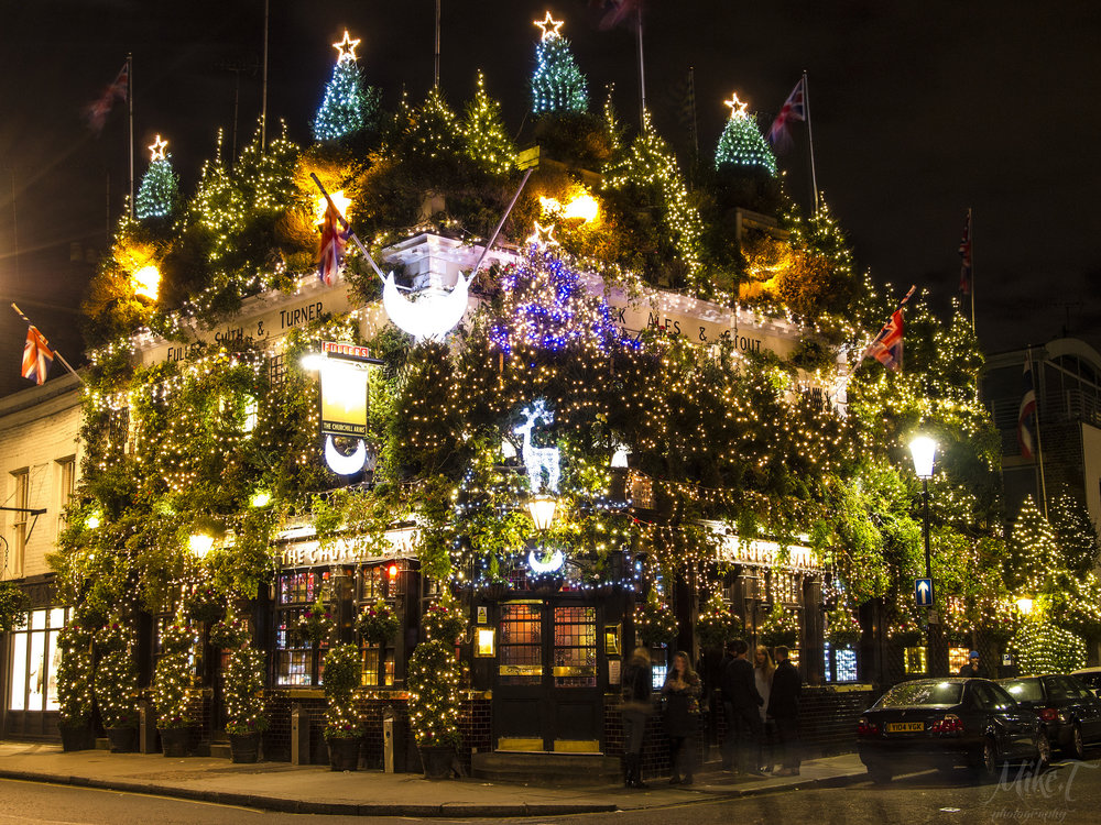 The Churchill Pub, London. Photo credit: Time Out