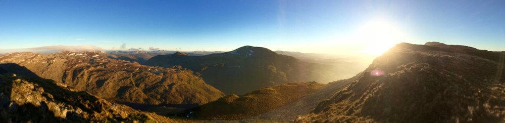 Photo: Adelaide Goodeve adventuring in Snowdonia
