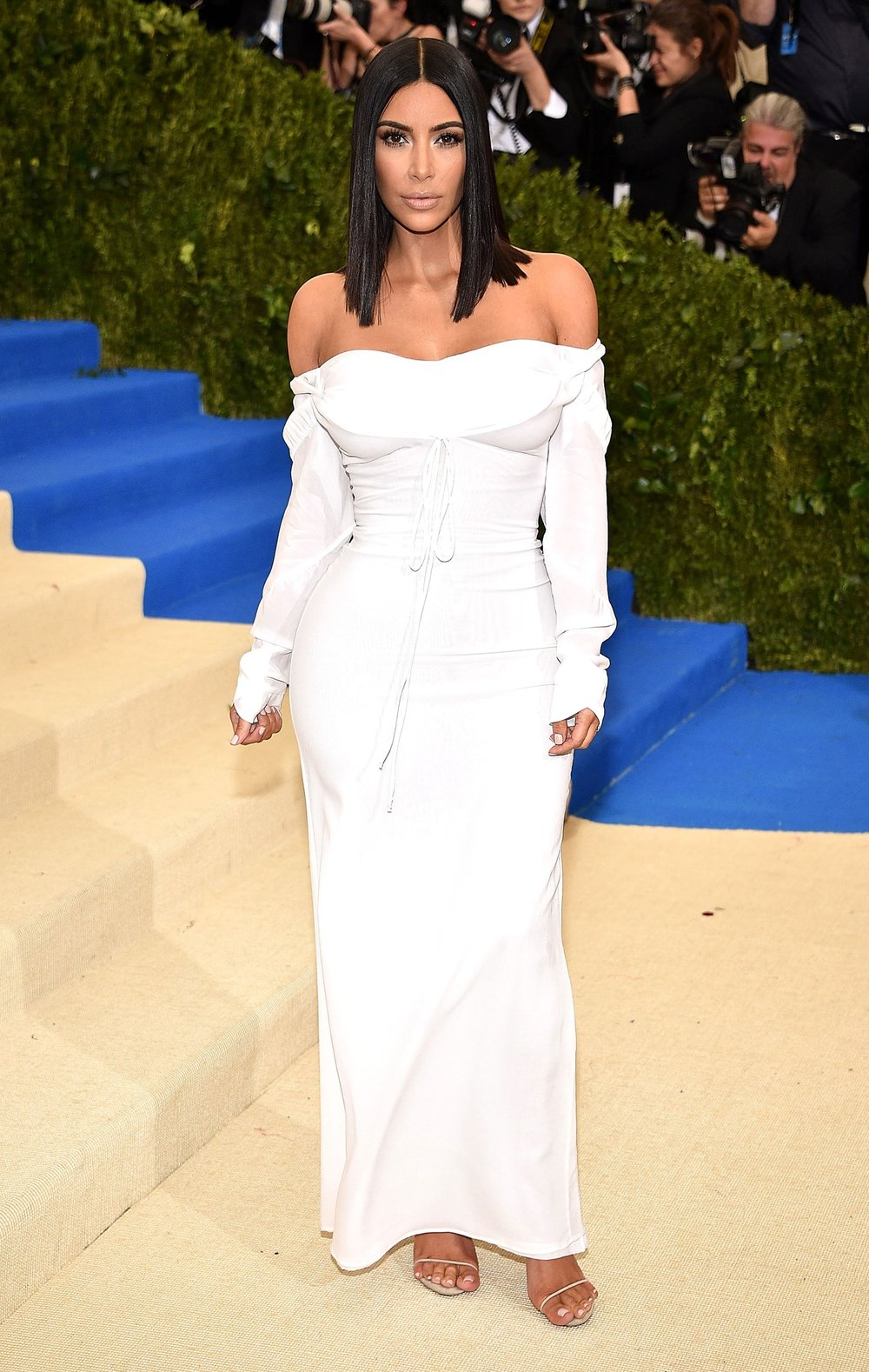 KKW   in Vivienne Westwood Couture Collection . Simple. Elegant. Sexy. So chic. Can't hate on her here.