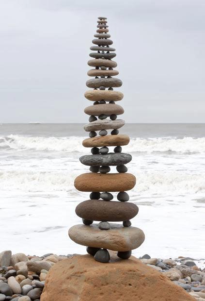 Buddhist Stone Stuppa