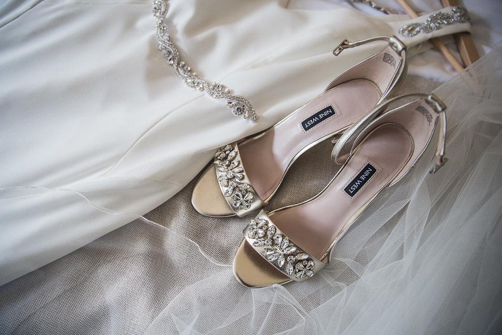 Michelle & David Radisson Blu Hotel & Spa Limerick. The shoes.