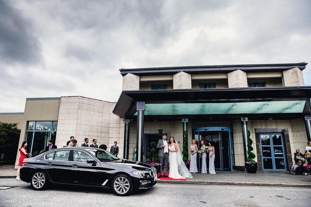 Michelle & David Radisson Blu hotel & Spa Limerick Wedding reception 4.8.2018