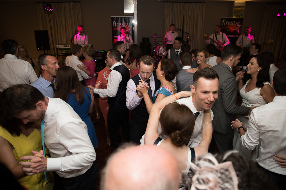 IMG_3107.jpgMichelle & David Radisson Blu hotel & Spa Limerick Wedding reception 4.8.2018. The first dance as husband and wife with Firestar Wedding Band