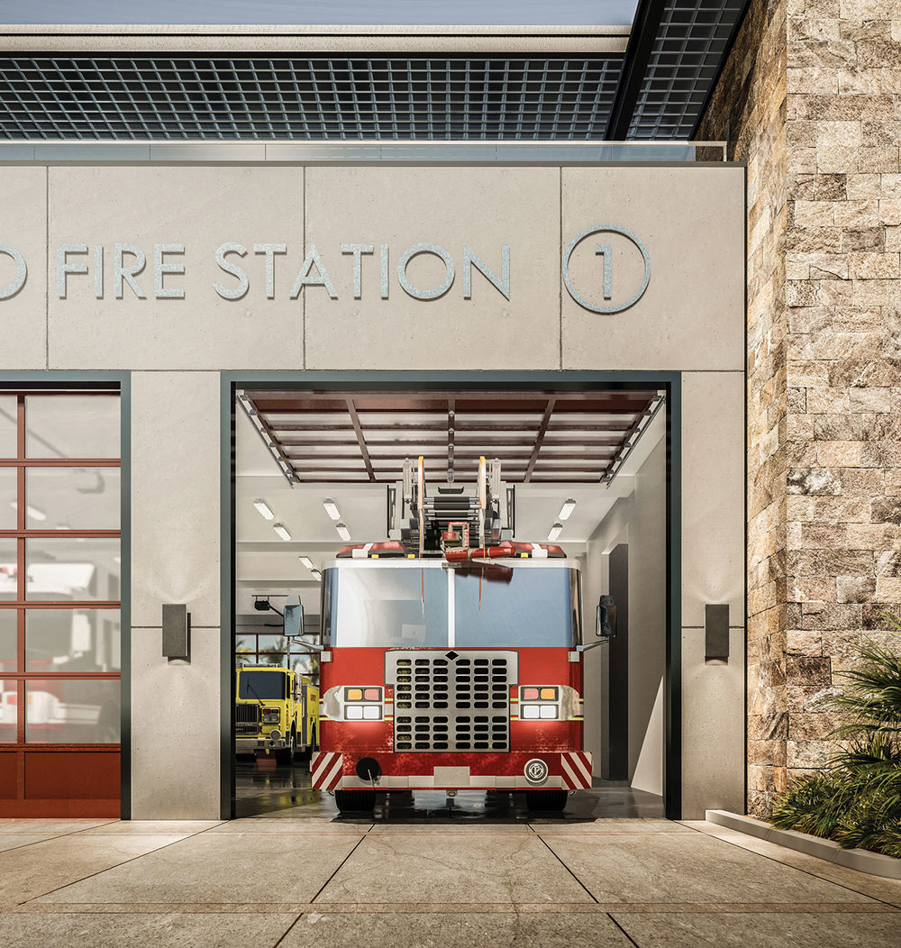 CALEXICO FIRE HEADQUARTERS STATION
