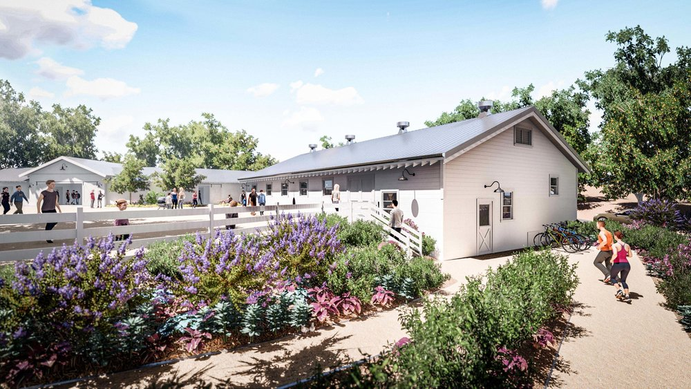 the octagon barn center