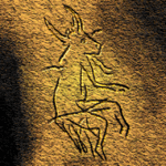 Paleolithic cave painting- France
