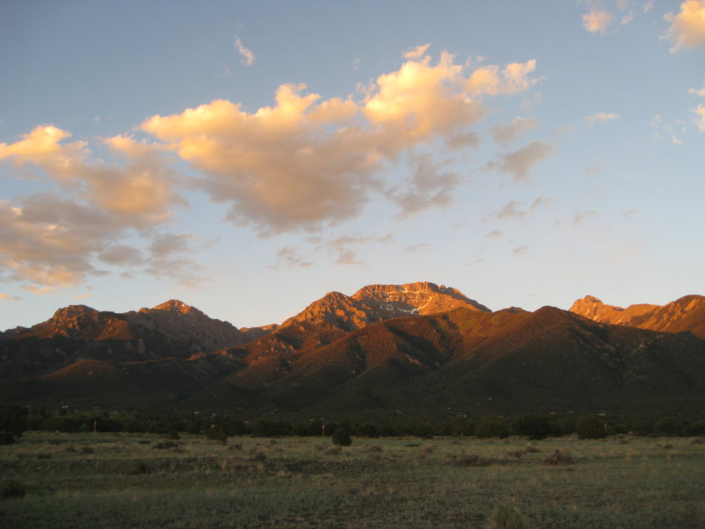 Majestic Sangre de Cristo mountains are the perfect place to pray in solitude and have been used for this purpose by Native Americans for centuries. Biannual Hanbleceyas take place in Colorado and around the world in various locations.