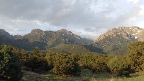 A sample of the amazing views in Crestone, Colorado.