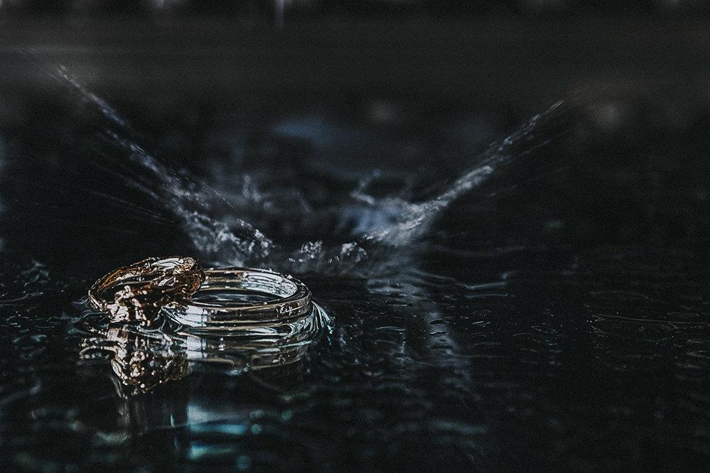Wedding photography - ring photo