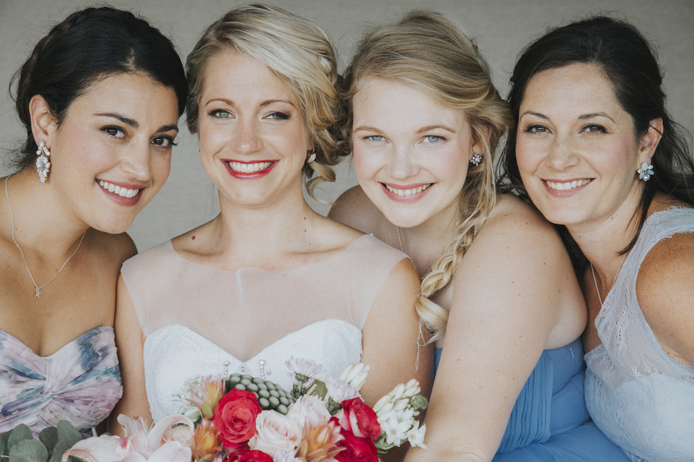 Bridesmaids - wedding photography cape town