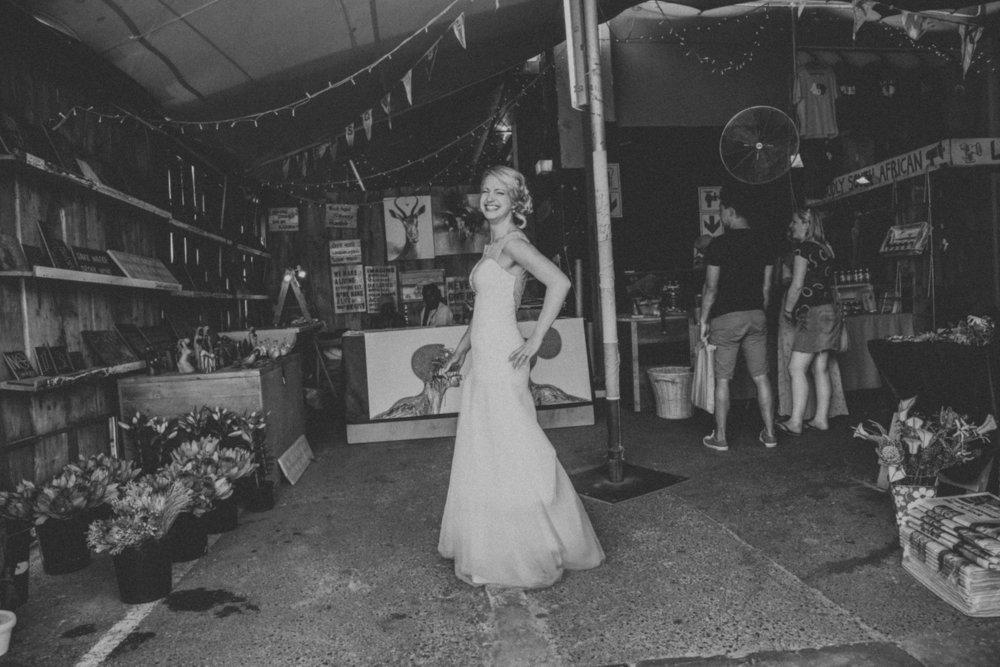 Bridal portrait - Cape Town wedding photographer