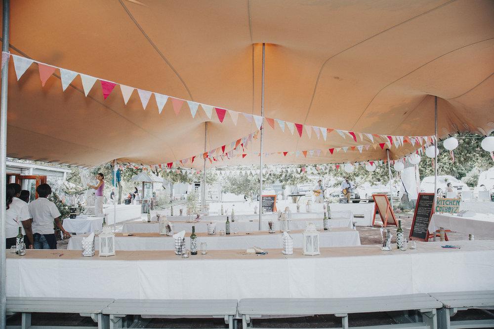 Market theme wedding