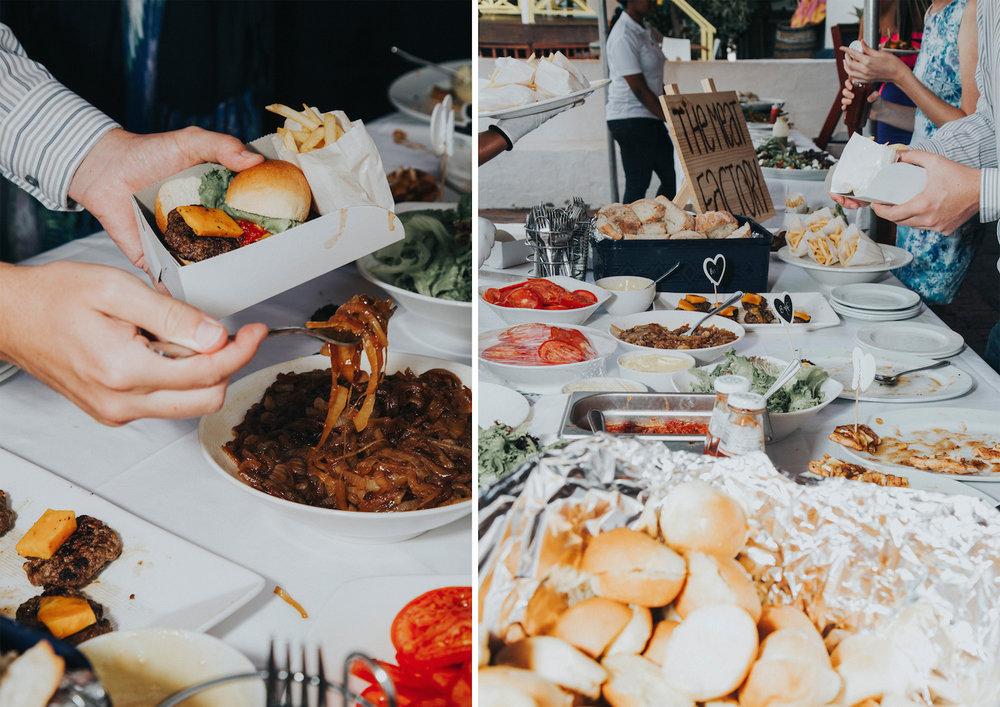 Cape Town - market theme wedding