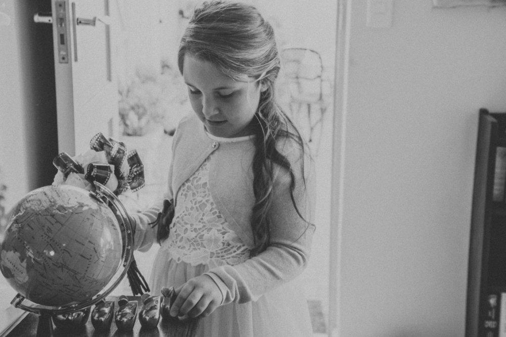 Photographer photographs own wedding
