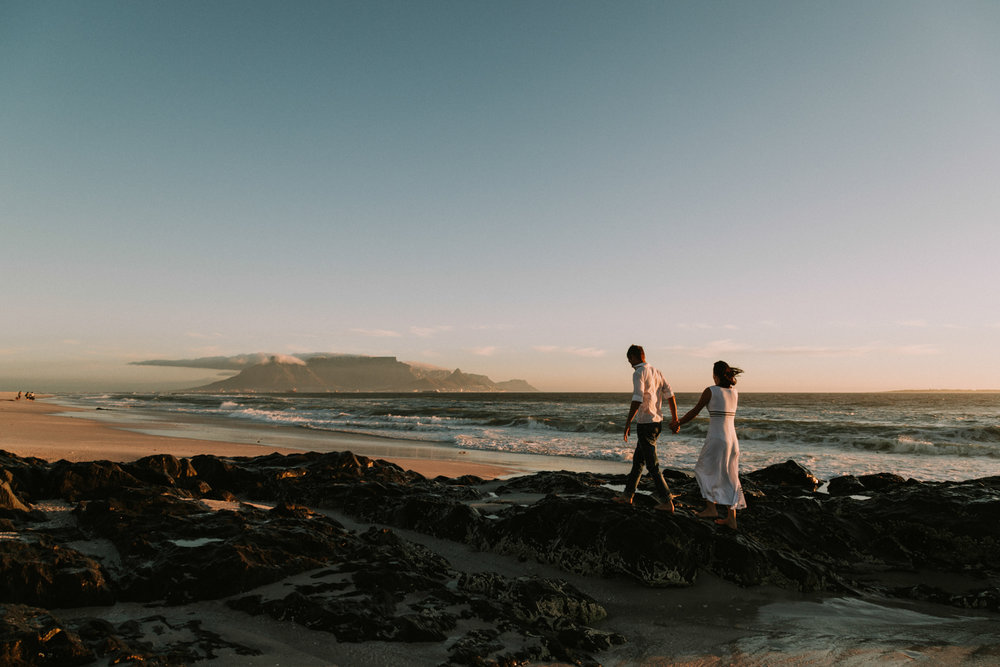 table mountain couples photography