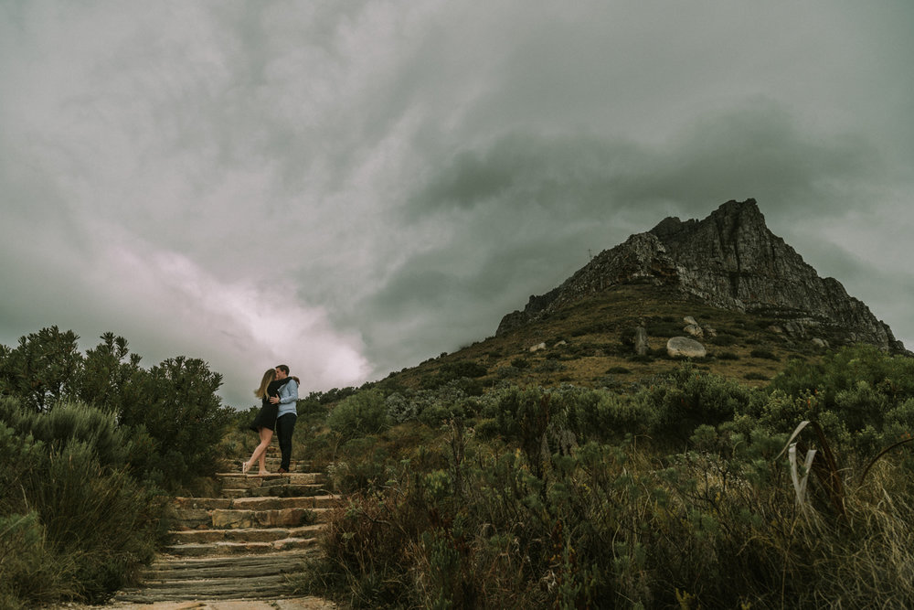 Table Mountain Hike Engagement Shoot - Bianca Asher Photography-1.jpg
