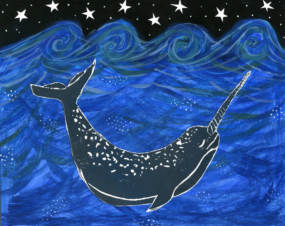 Untitled (From the Narwhal series)