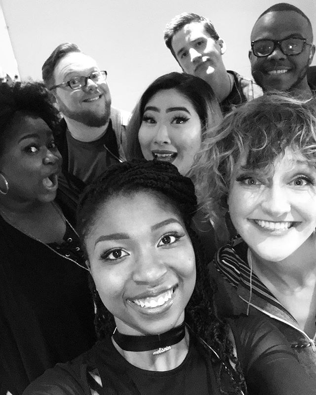 Had to take a group selfie at intermission before our last show. This tour has been absolutely incredible and an amazing learning experience. We are so grateful for everyone we met! Thanks PA!! ❤ #patakeovertour #mixvocalgroup #acapella #acappella #pennsylvania