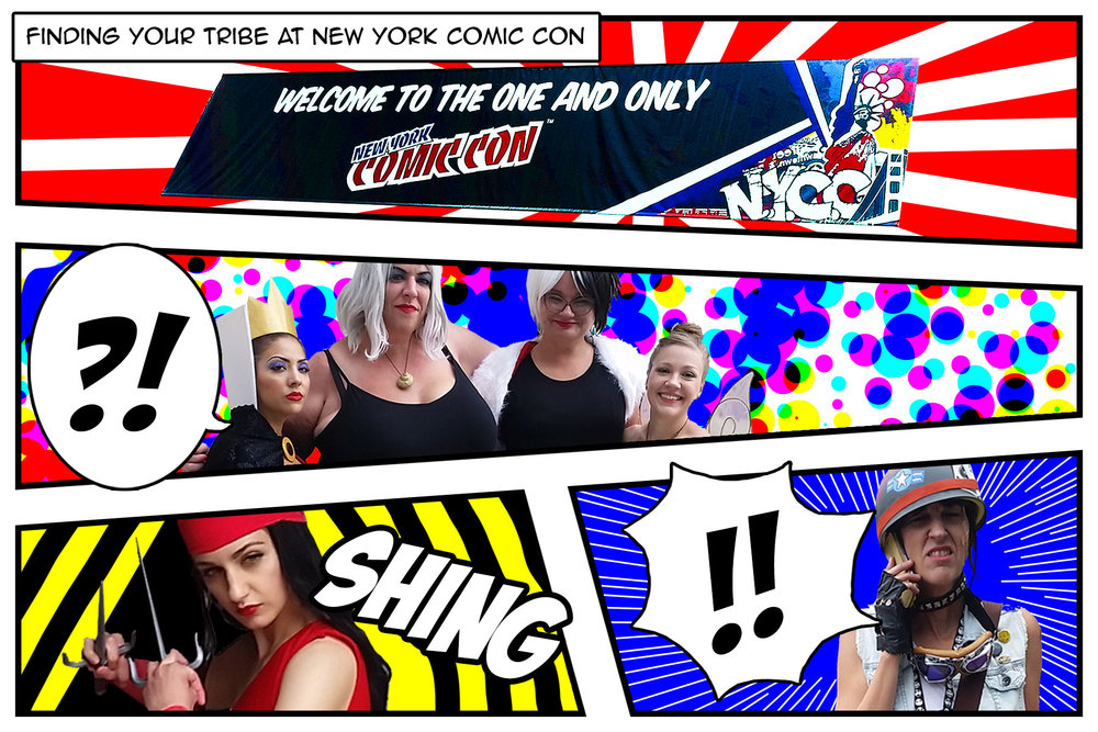 Finding Your Tribe at New York Comic Con - By Jessica Maria Macfarlane