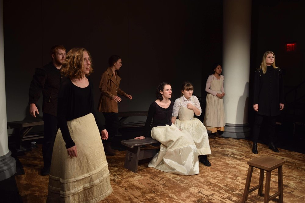 THE CRUCIBLE AT GALLATIN MAINSTAGE    BY DANNIE GIGLEVITCH