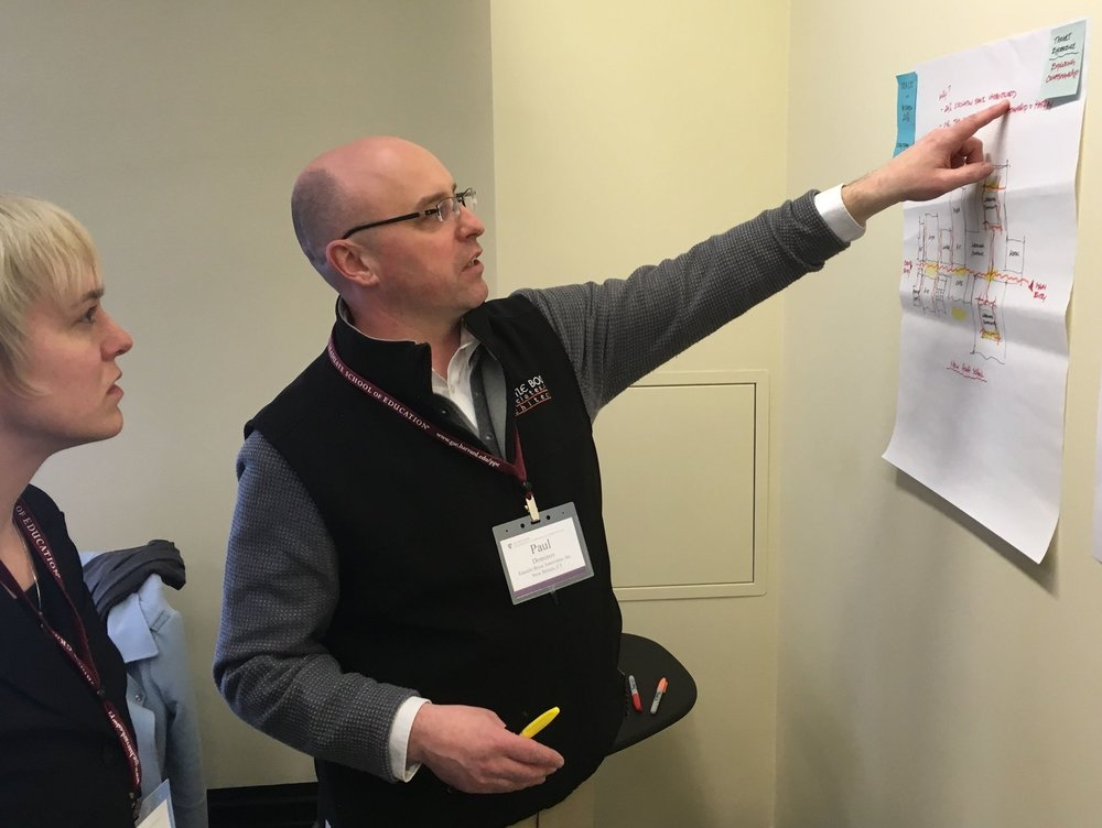 Architects meet educators at Harvard's Learning Environments for Tomorrow conference.