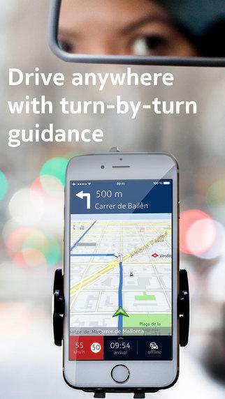 Beste offline navigatie apps Here Maps WeGo