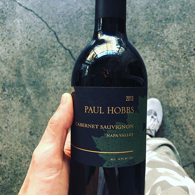 @paulhobbswinery @vintage_wines when you inadvertently wear matching camo pants on delivery day.  #meanttobe #paulhobbs