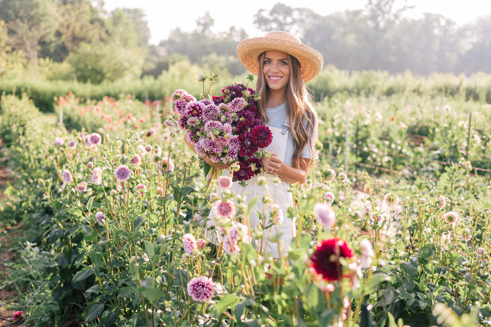 [Video clip. Click image above to view full video.]  Responsibilities: Filming and editing video.   This Flower Farm Will Make You Want to Become a Flower Farmer