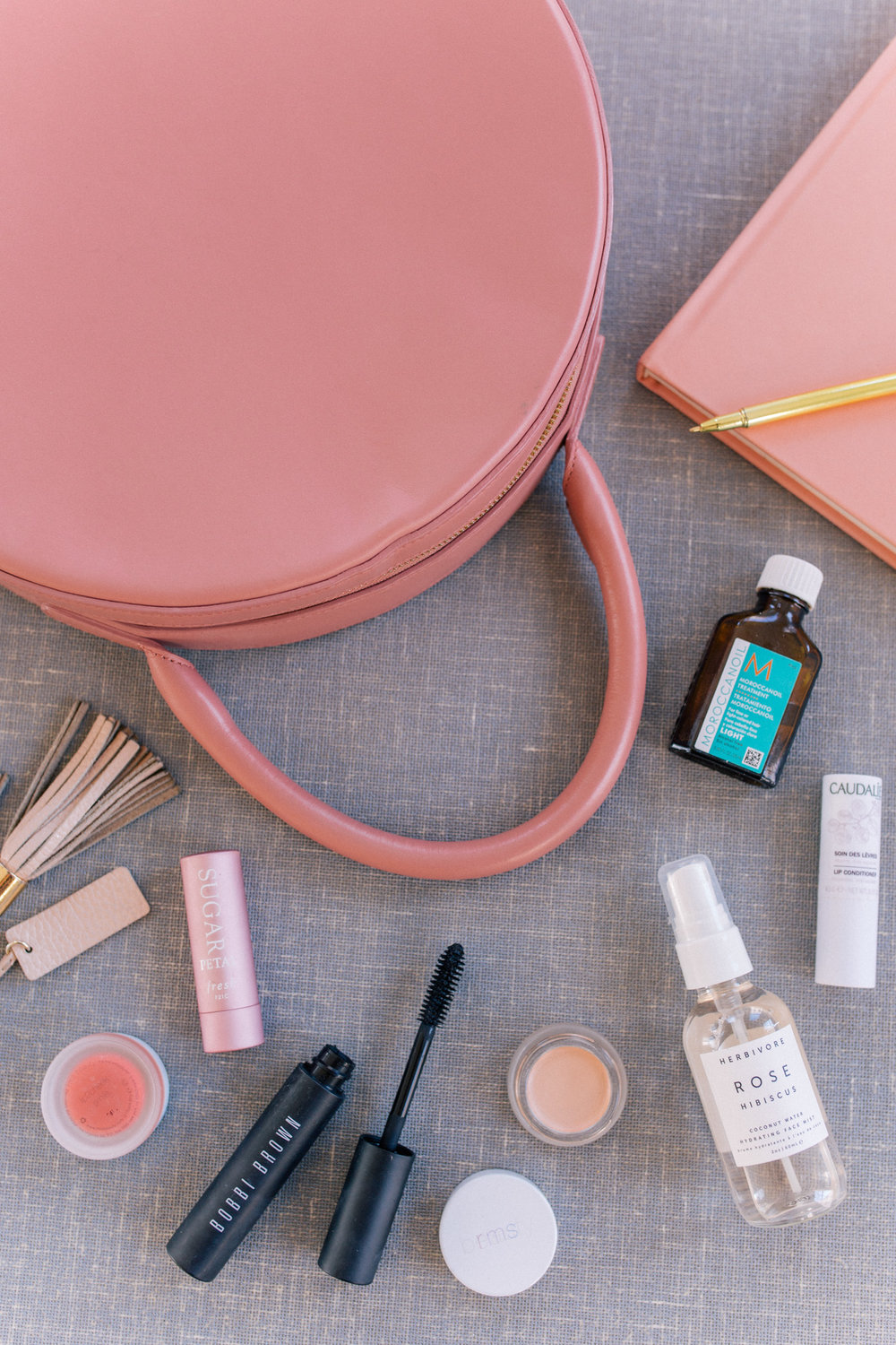 7 Beauty Items I Always Keep in my Handbag   Responsibilities: Creative concepting, art direction, flat lay styling, product photography, digital design and animation.  [Click the link above for the full post]