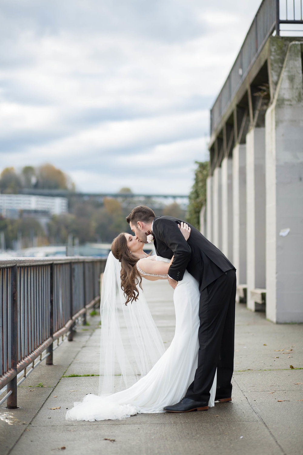 Gasworks Park Downtown Seattle Wedding Photography