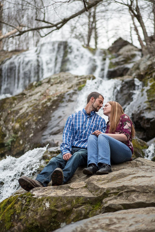 Shenandoah Skyline Drive Engagement Photos Virginia Wedding Phot